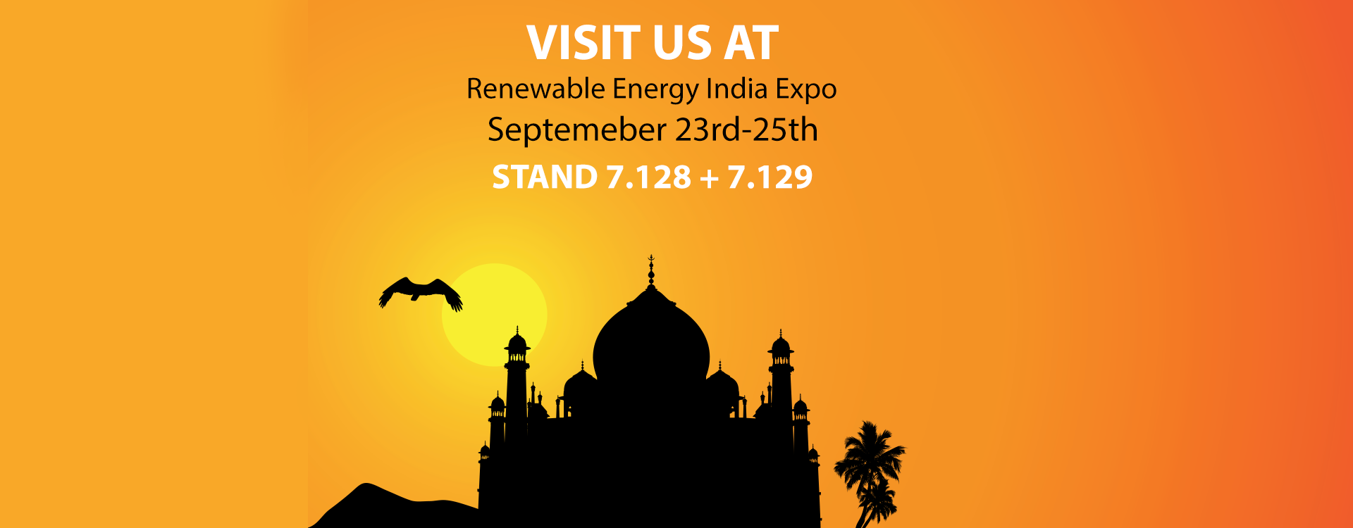 Visit Us At The Renewable Energy India Expo