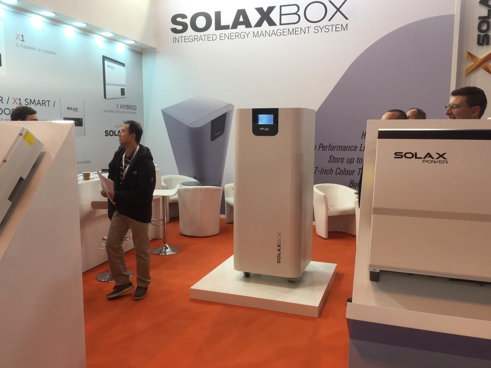 SolaX Launch SOLAXBOX at SEUK
